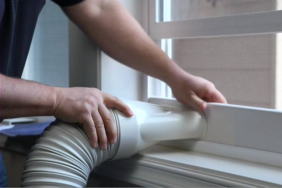Venting a Portable AC Properly