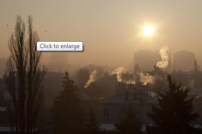 Indoor HEPA filters significantly reduce pollution indoors