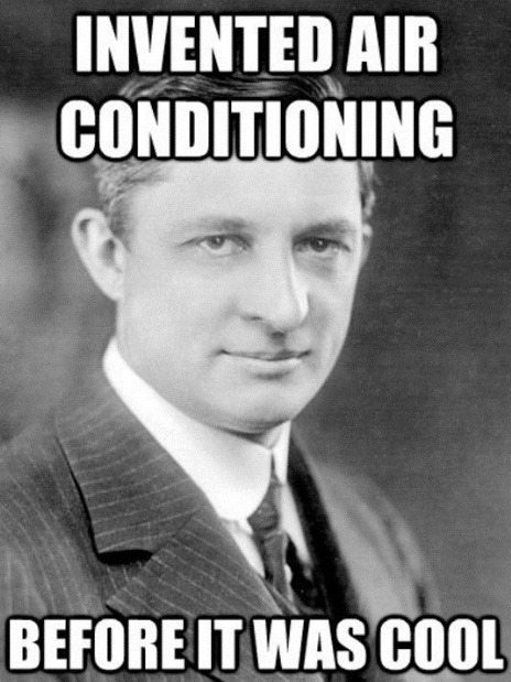 invented AC before it was cool