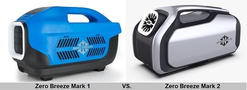 Zero Breeze Mark 1 vs. Mark 2