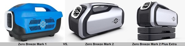 Zero Breeze Mark 2 vs. Mark 2 Plus vs. Mark 2 Plus Extra