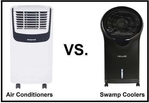 Air conditioner vs. swamp cooler