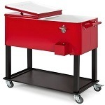 Best Choice Rolling Cooler Cart