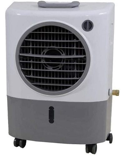 Looking for a good quality swamp cooler with powerful airflow at an affordable price? We recommend the Hessaire MC18M.