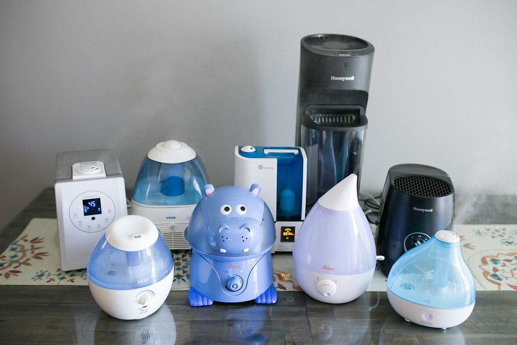 Humidifiers inside home