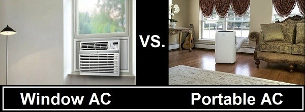Portable Air Conditioners vs. Window Air Conditioners