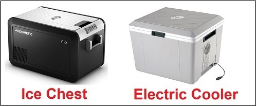 Ice Chests vs. Electric Coolers