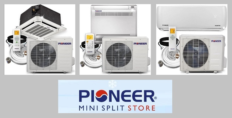 Pioneer Mini Split Heat Pump and AC