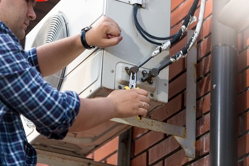 install through-the-wall air conditioner